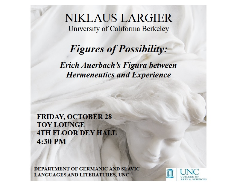 Guest Lecturer: Niklaus Largier