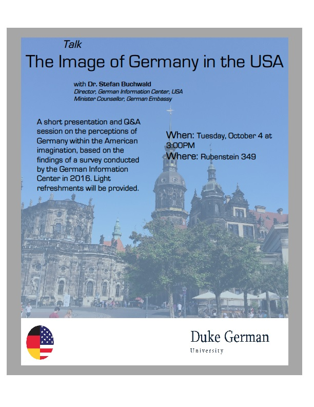 The Image of Germany in the USA